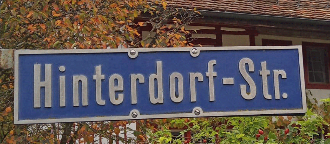 Hinterdorfstrasse